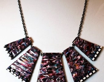 Painterly Statement Necklace