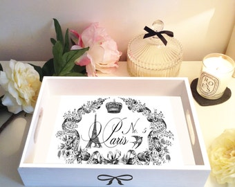 Paris No 5 Vintage Parisian Tray