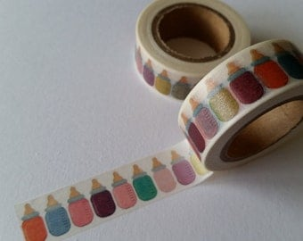 Baby Bottle Washi Tape