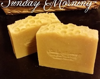 OUT OF STOCK - The Bees Knees Soap - Handmade Soap - Beeswax Soap - All Natural Soap - Honey Comb Soap