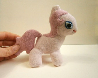 Customized My Little Pony Plush, stuffed Pony, toy for girl, gift for girl.