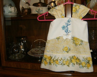 Baby Girl Sundress 6-8mos., Girl's Sundress 6-8mos., Vintage Sundress 6-8mos, Baby's Sundress 6-8mos.