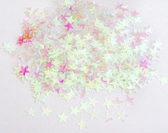 Iridescent Stars - Wedding Table Confetti