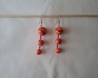 Fire Balls on Wire
