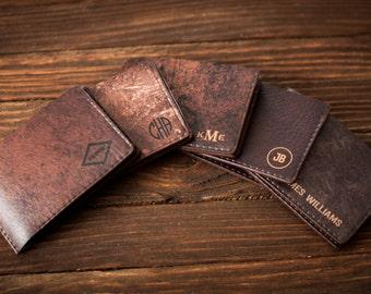 Slim mens wallet, leather wallet, mens leather wallet, leather wallet mens, wallet men
