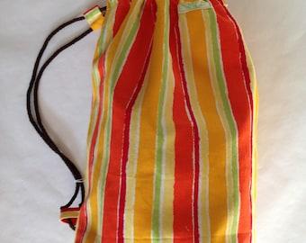Fancy duffel bag