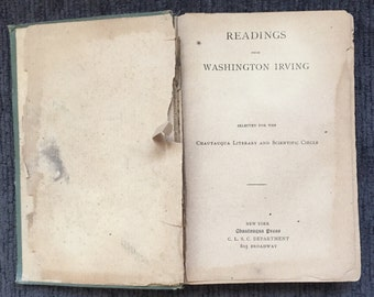 Readings From Washington Irving 1887