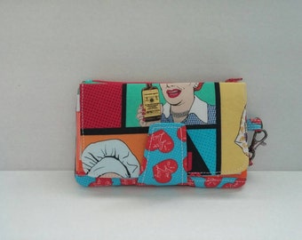 """Pearl - """"I Love Lucy"""" wallet/clutch"""