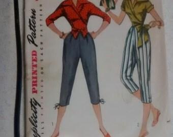 1950's Vintage Simplicity pattern #4255
