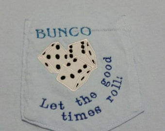 Bunko Embroidered Pocket Tee