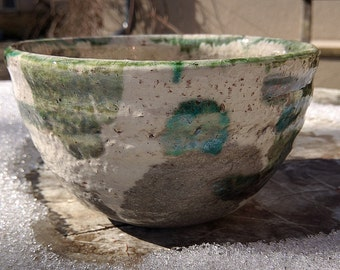 Raku style bowl