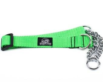 Martingale Collar - Neon Green