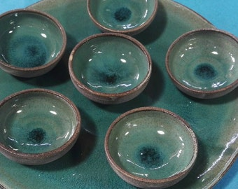 Passover plate, passover seder plate, passover turquiose plate, ceramic passover plate,pottery passover palate,sushi plate
