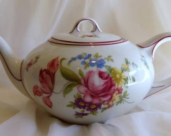 HUTSCHENREUTHER OLIVIA TEAPOT Pot w/ Lid Aelteste Hohenberg Germany No 19