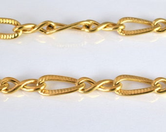 "18K Gold Filled Chain 16.5"" Inch Cg21"