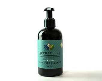 All Natural, Organic Men's Face Cleanser