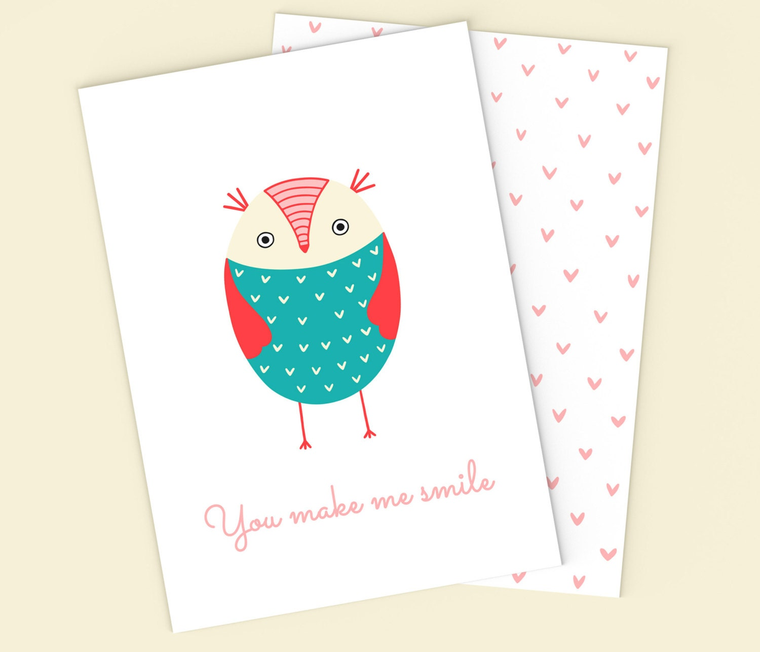Awesome owl birthday cards pics laughterisaleap printable owl card digital owl blank card printable bookmarktalkfo Image collections
