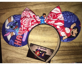 Lilo and stitch Ears inspired ears