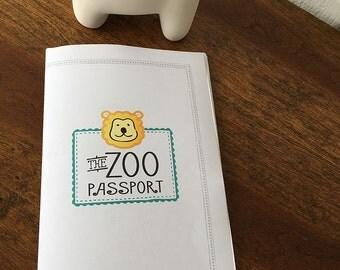 Printable Zoo Passport - Zoo Game - Zoo Scavenger Hunt - Zoo Hunt