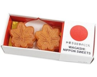 Japanese Sweets Magnet - Momiji Manju