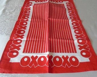 oxo linen tea towel