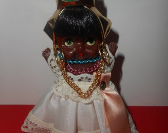 VINTAGE  BLACK  MAMY – small black doll Mamy American