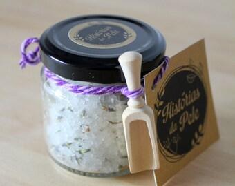 Lavender and Honey Body Scrub.