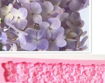 Silicone Mold Flower Hydrangea