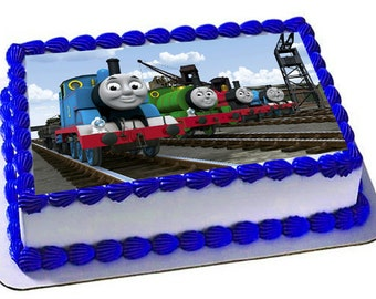 Thomas and Friends Edible Cake Topper, Frosting Sheet, Thomas and Friends Birthday Party, Icing Sheets