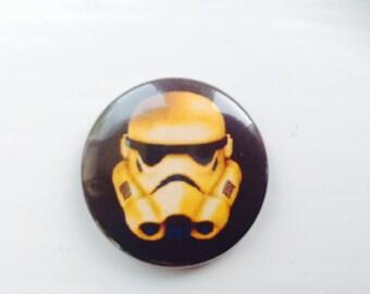 Stormtrooper 25mm pin badge