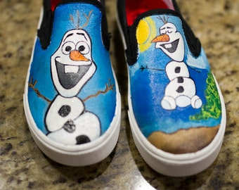 Olaf in Summer shoes