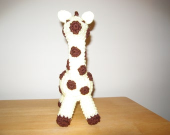 Crocheted Gerry The Giraffe