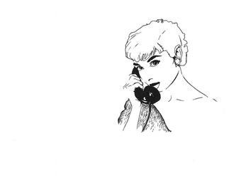 Audrey Hepburn Vintage Phone Original piece