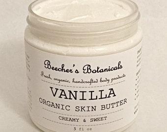 VANILLA Organic Skin Butter | Body Butter
