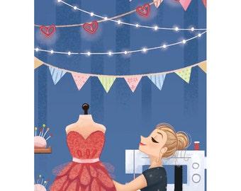 Fashion Designer Print