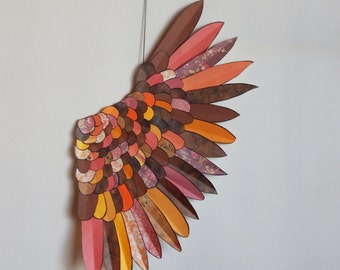 3D Wing - Paper Wing - Fairy Wing - Wall Decor