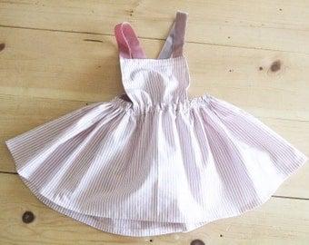 Girl Baby/Toddler Apron Dress