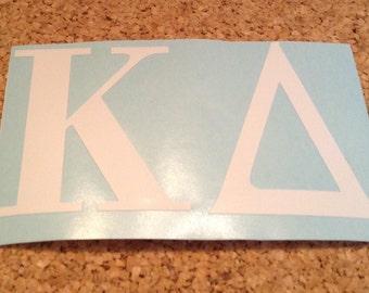 "Kappa Delta Sorority Decal 2x3"""