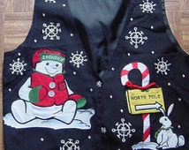Ugly christmas vest size M