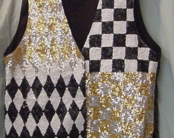 fashion fantasy vest lots of glitz on this one