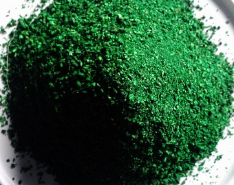 Fake Moss Powder Algae Thallophytic Plant Lichen Green Flocking Grass for Flower Decoration