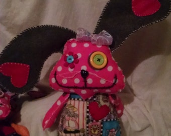 Bunzi Love Stitched Dolls. Just in time for Easter!