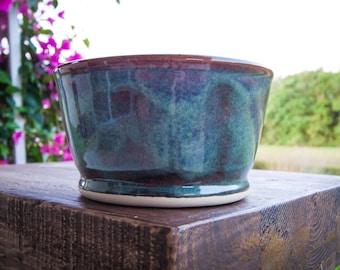 Ceramic bowl, soup bowl, cereal bowl, handmade stoneware bowl