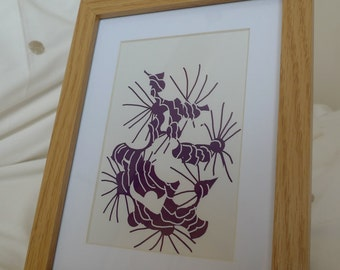Digital Drawing - Framed Print #1