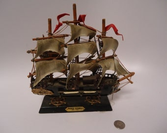 Fragata Espanol Ano 1780 model ship