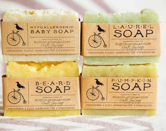 Gift set Beard care gift ideas beard soap gift for him birthday gift for boyfriend for husband pumpkin soap vegan soap beard wash baby soap
