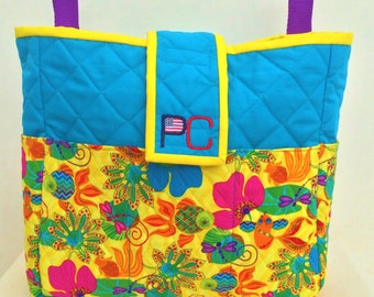 Bahama Mama Walker Bag for Rollators