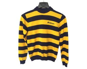 Vintage University of Michigan Sweater