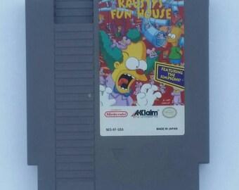 Krusty's Fun House for Nintendo NES