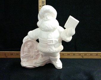 Ceramic Missouri Santa Claus